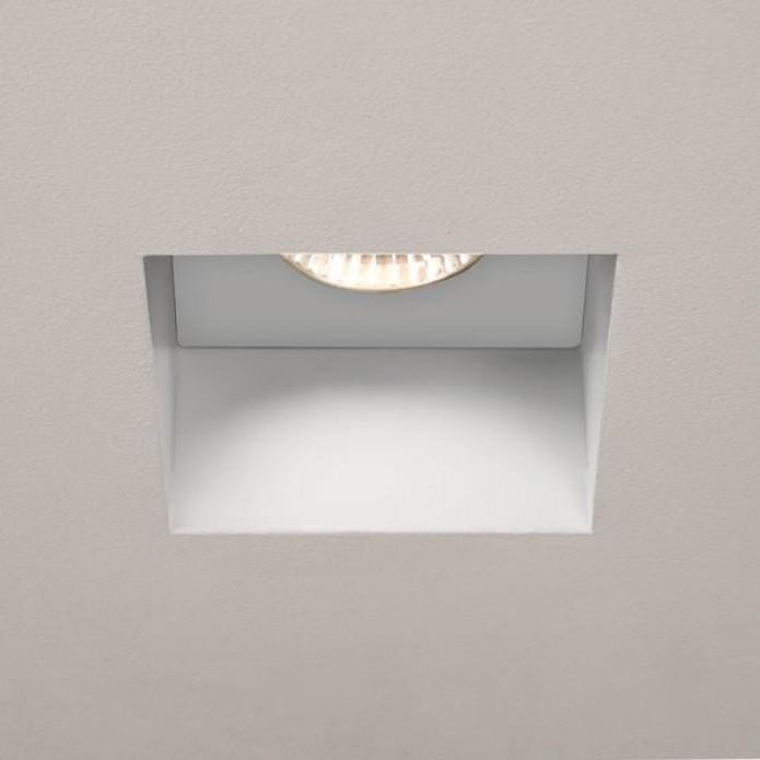 Spot Salle De Bain Trimless Square Blanc Ip65 Par Astro Lighting