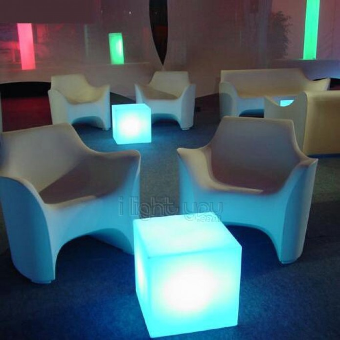 Cube Lumineux Cubo In Par Slide Design