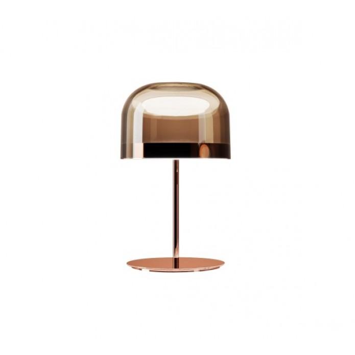 Equatore Lampe De Table Led O35cm Cuivre Rose Par Fontana Arte