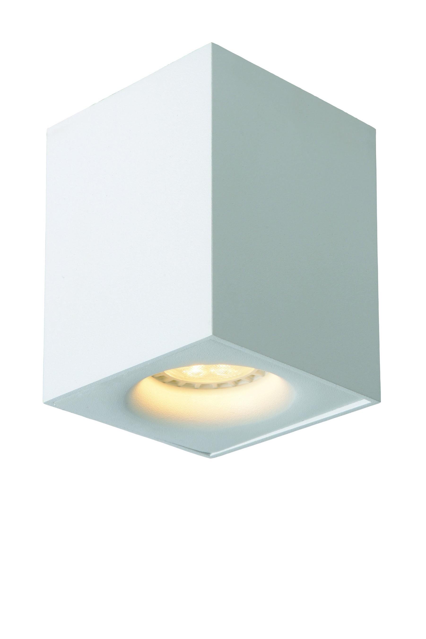 Bandeau Led Encastrable Plafond tioben led spot plafond led dim. gu10 1x5w 3000k blanc