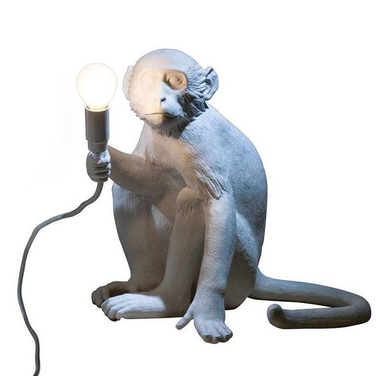 Lampe Table Monkey De Sitting PymnwvN80O