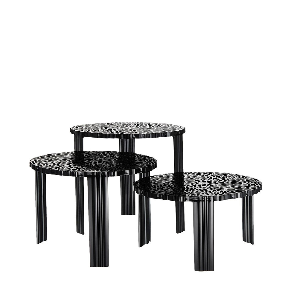 T Table Noir