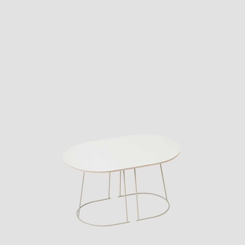 Airy Table Basse L68cm Ivoire par Muuto  