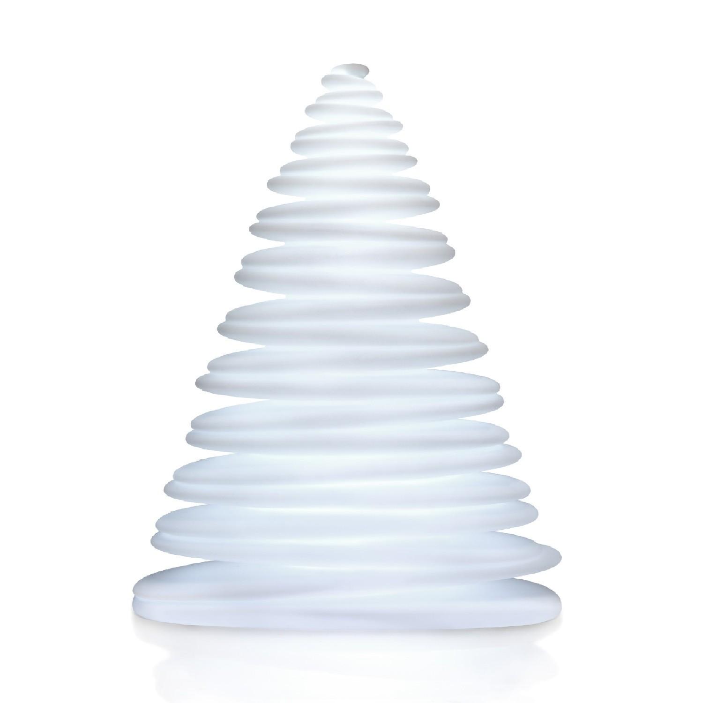 sapin de noel 2m Chrismy Sapin de Noël LED Blanc Chaud 2m par Vondom | sapin de noel 2m