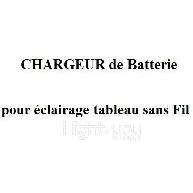 chargeur de batterie pour eclairage tableau sans fil par ForEclairage Tableau Sans Fil