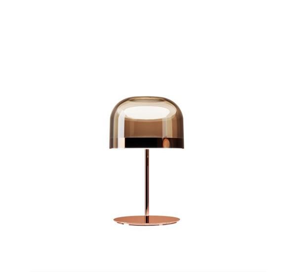 Lampe Table Led Equatore Ø23cm Cuivre De Rose wuXZiOPkT