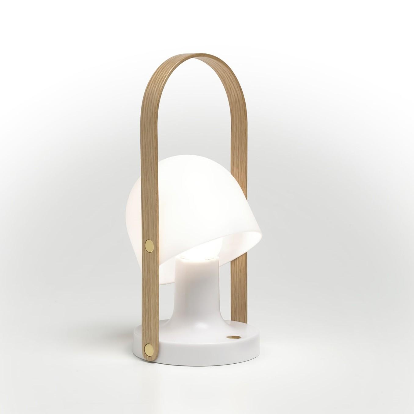 Follow Me Lampe Sans Fil Par Marset Lampe A Poser Sans Fil Outdoor