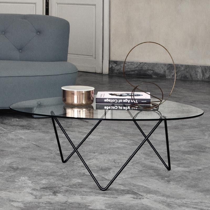 Pedrera Table Verre par Gubi |