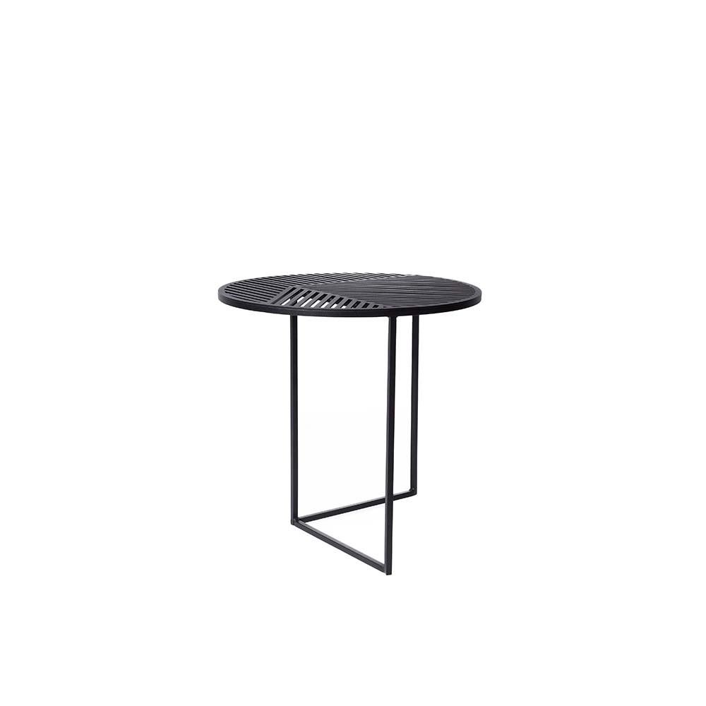 ISO A Table Ronde Noir