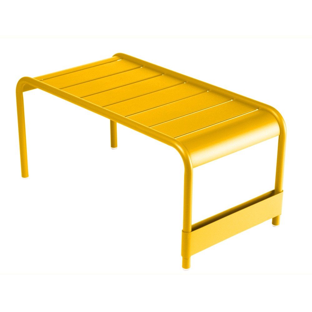 Luxembourg Grande Table Basse/Banc de Jardin Miel