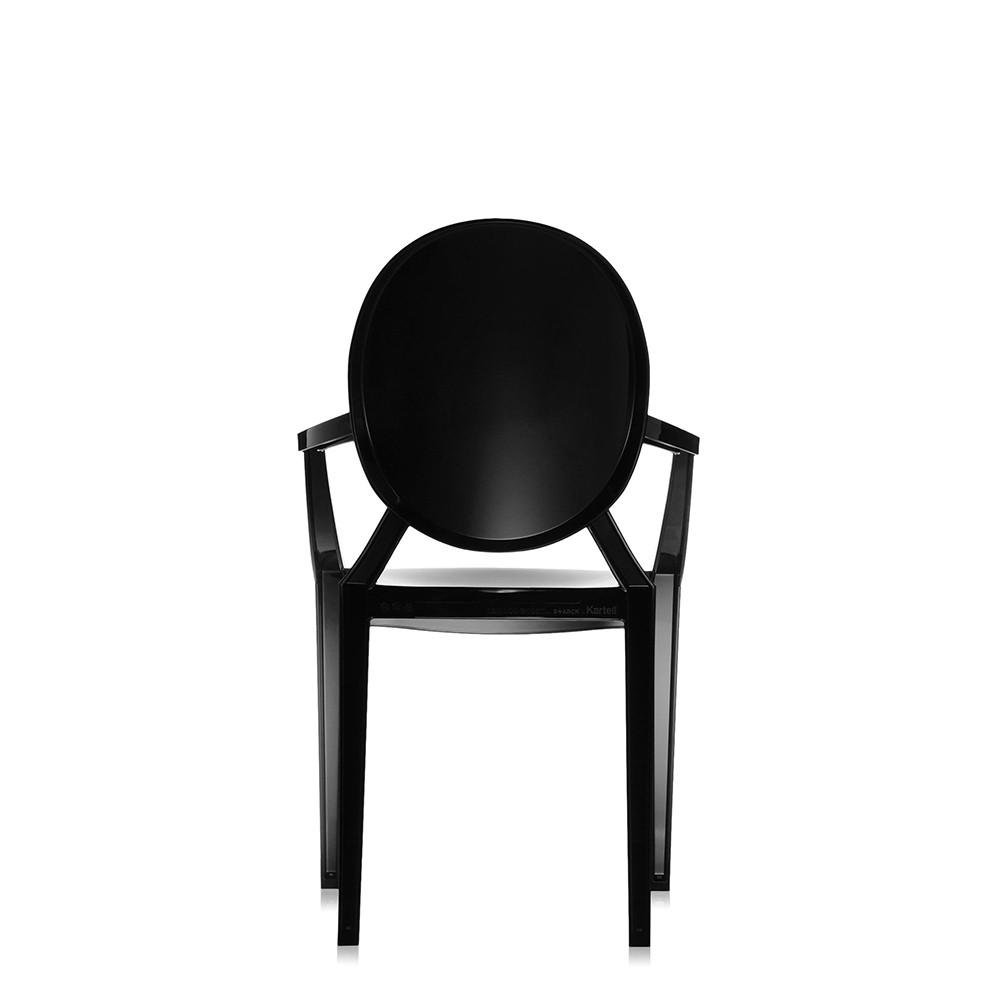 Fauteuil Louis Ghost De Philippe Starck lot de 2 louis ghost fauteuil noir