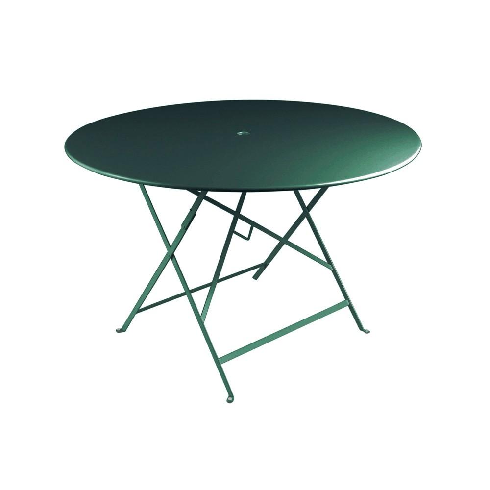 Bistro Table Ronde O117cm Par Fermob Table De Repas Exterieur